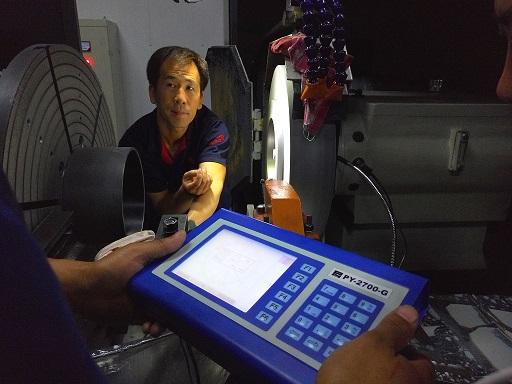 瓦房店轧机轴承动平衡应用