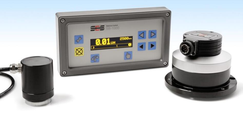 SBS-1000主轴内置式砂轮动平衡系统-动平衡器
