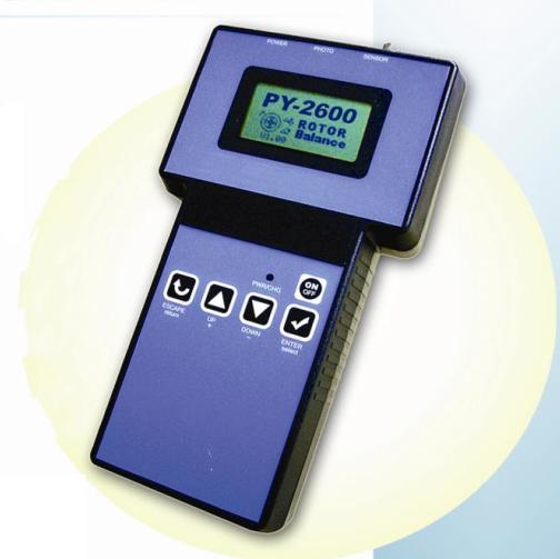 砂轮动平衡仪PY2600
